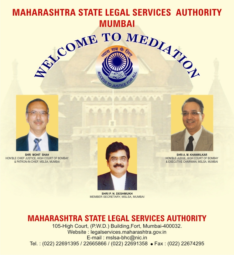 Maharashtra State Legal Services Authority (Mediation)